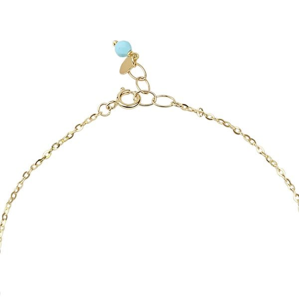 Aria Galaxy 18ct Yellow Gold Chain Bracelet