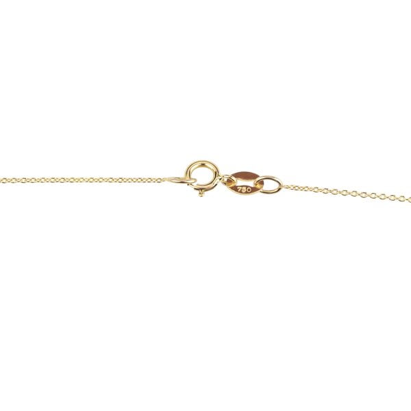 18ct yellow Gold Fine Chain Clasp