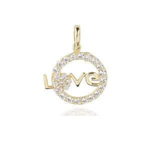 Gia Love 18ct Gold Pendant Charm