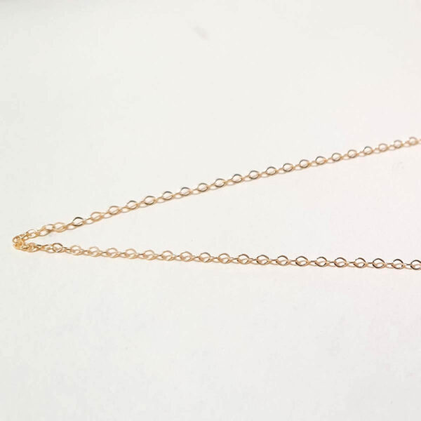 18ct Yellow Gold 16inch Belcher Chain Necklace