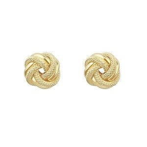Noemi Knot 18ct Yellow Gold Earrings
