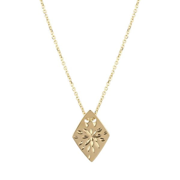 Noemi 18ct Gold Pendant Necklace