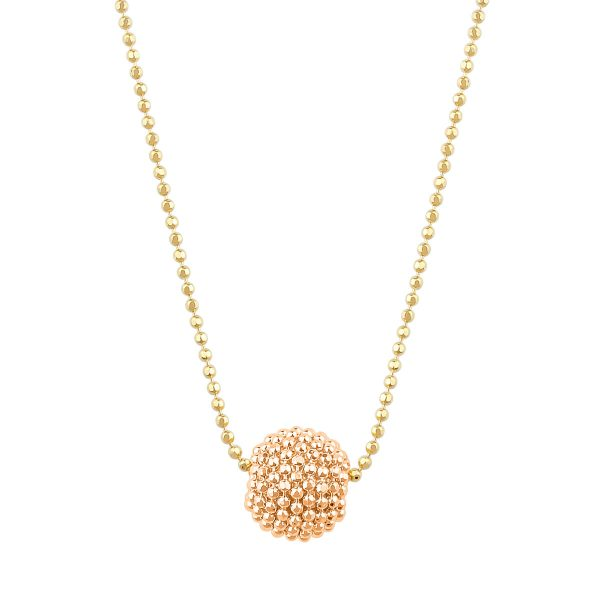 Auric Amelia 18ct Rose Gold Pendant Necklace