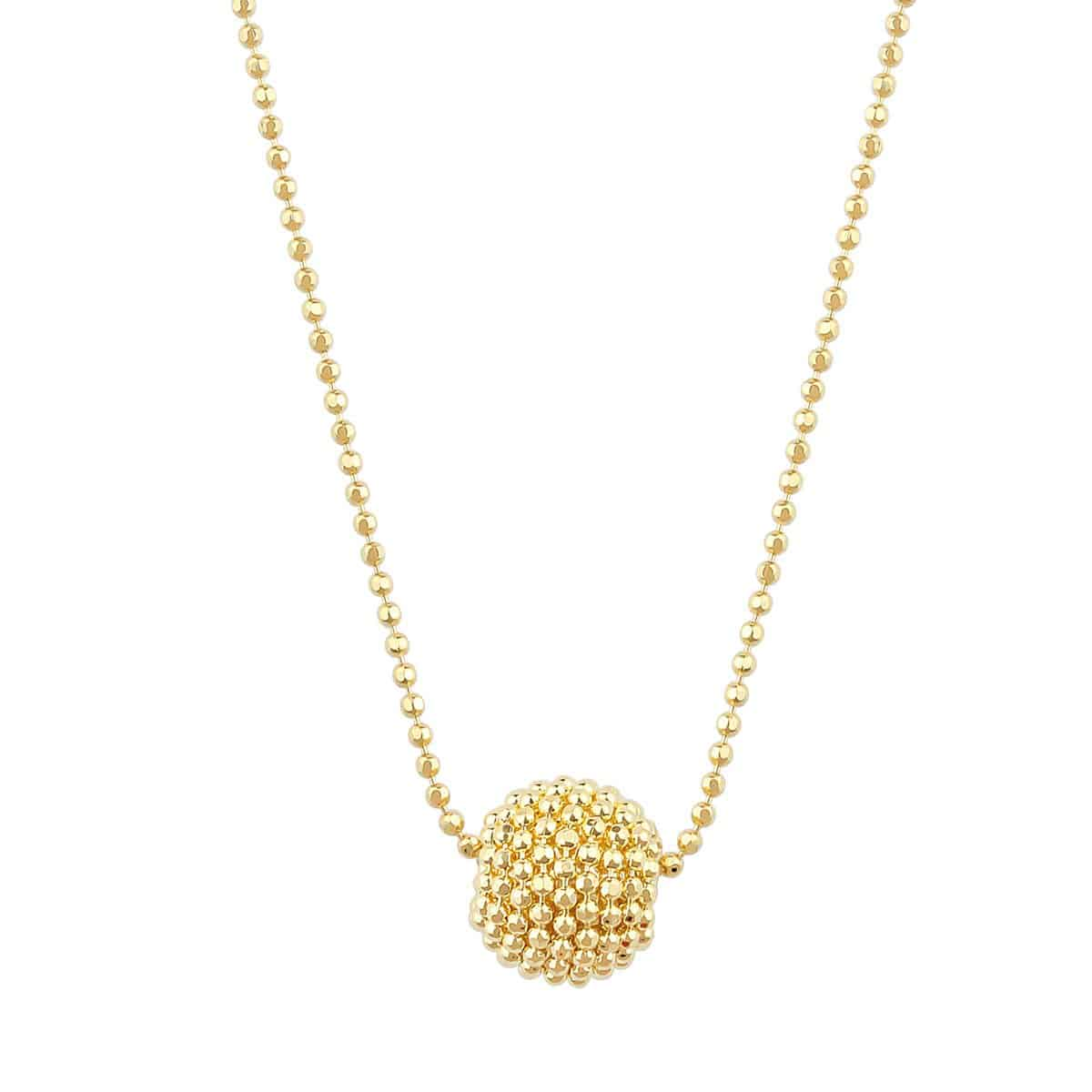 Auric Amelia 18ct Gold Pendant Necklace