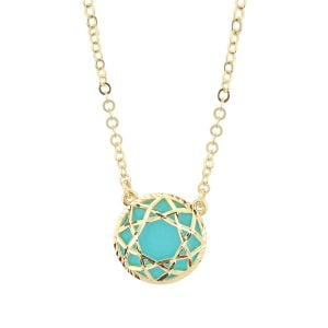 Auric Zoey 18ct Yellow Gold Pendant Necklace