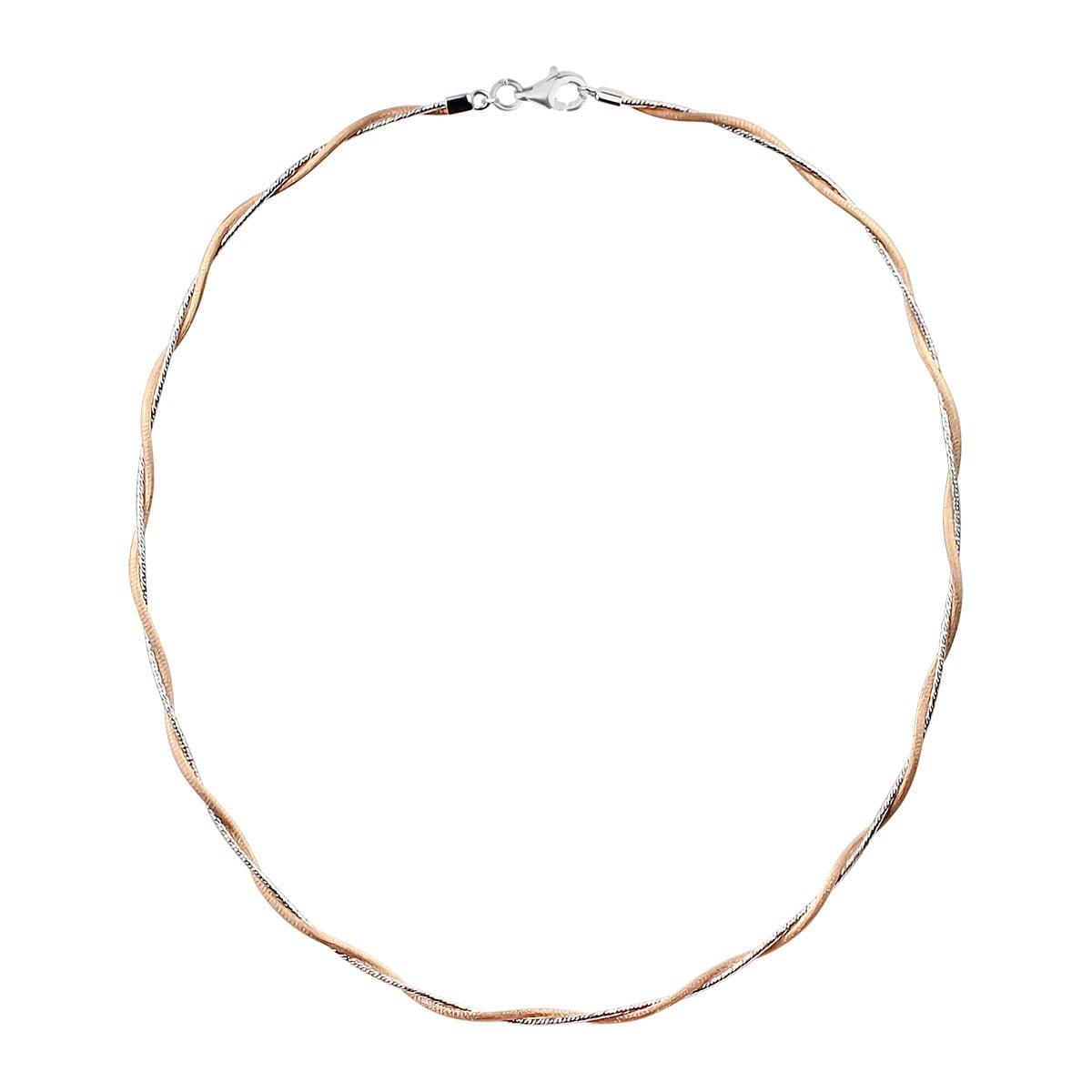 Serena 18ct Rose Gold Choker Necklace