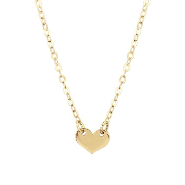 Noemi I Luv U 18ct Gold Pendant Necklace