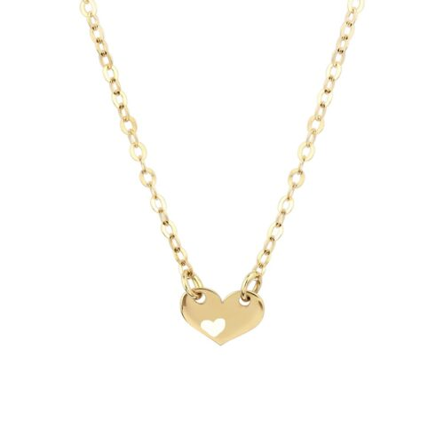 Noemi One Love 18ct Gold Pendant Necklace