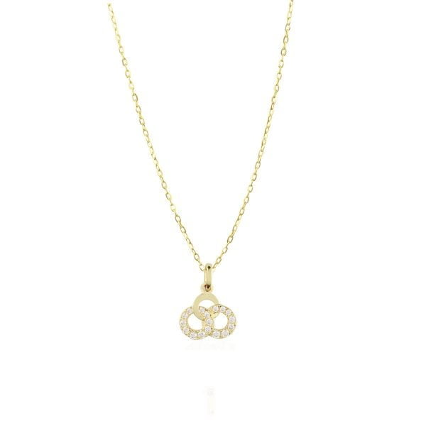 Gia Dream 18ct Gold Pendant Charm With A Gold Chain