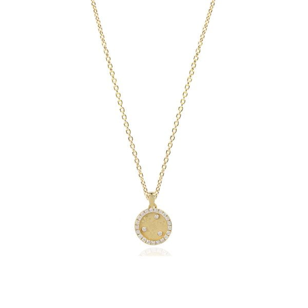 Serena Butterfly 18ct Gold Pendant Charm
