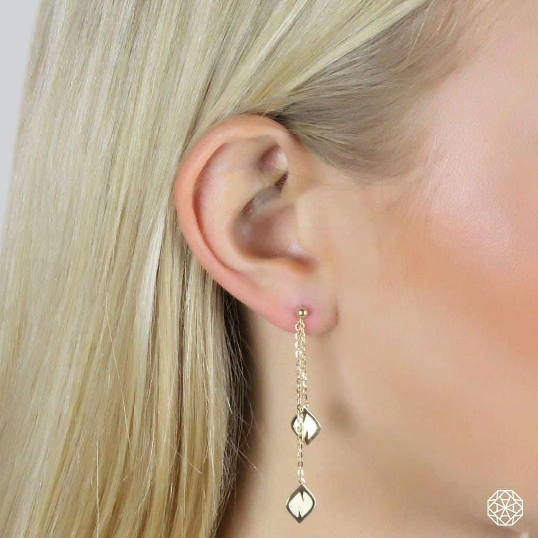 Auric Jewellery 18ct Gold Earring