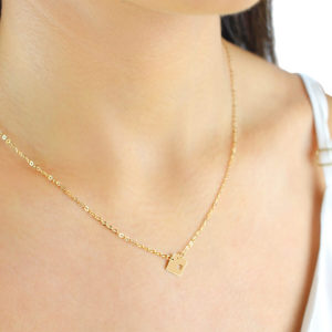 Noemi Mille 18ct Gold Pendant Necklace