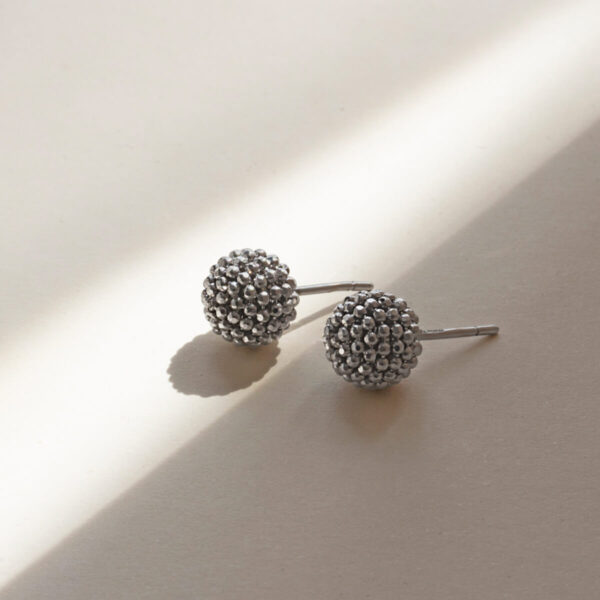 18ct White Gold Stud Earring Auric Jewellery