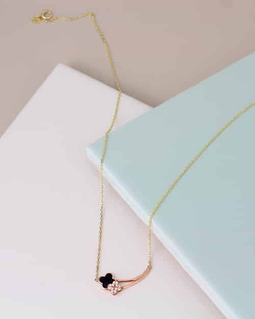 Rose-Gold-Necklaces By Auric Jewellery Online Jewellery Shop In The UK