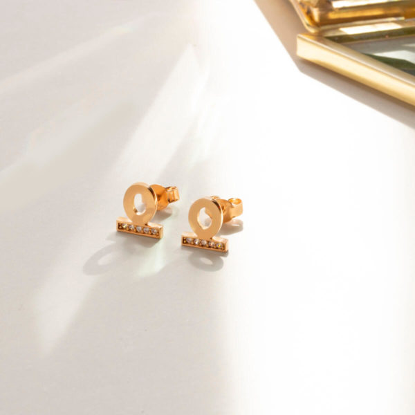 18ct Solid Rose Gold Earrings