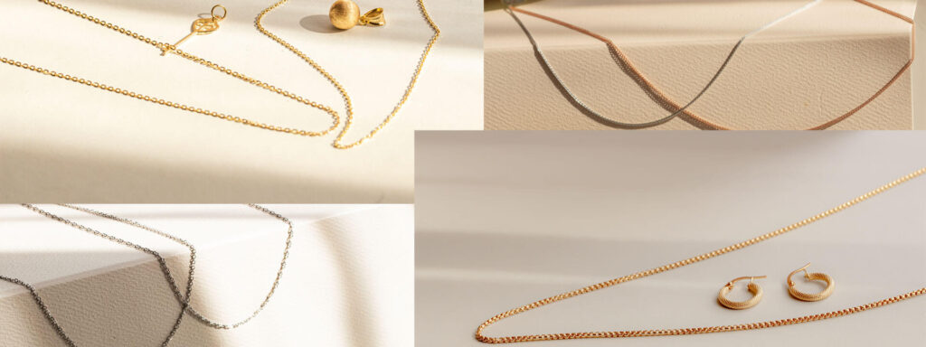 Gold Chain Necklaces designs for women