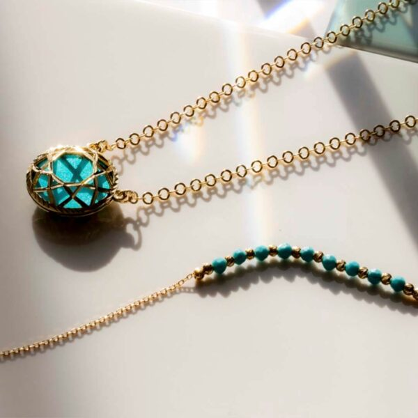 Gold & Turquoise Jewellery