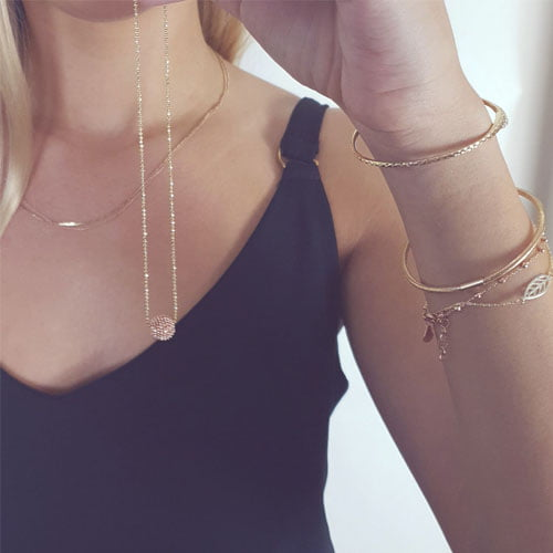 Rose Gold Necklace Chain