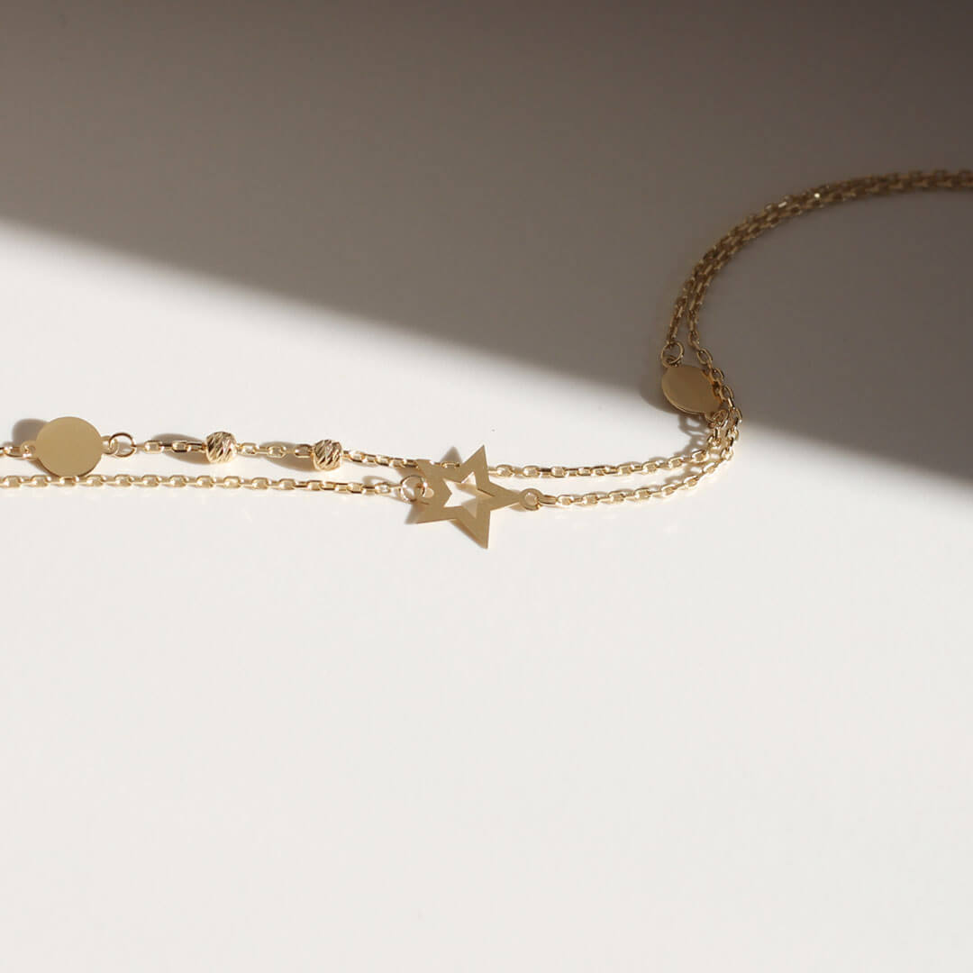 18ct Yellow Gold Bracelets for Women