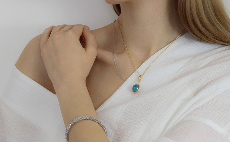 Real Gold Necklace For Women